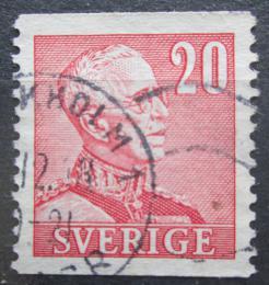 Poštovní známka Švédsko 1940 Král Gustav V. Mi# 258 IIA