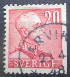 Poštovní známka Švédsko 1940 Král Gustav V. Mi# 258 IIDr