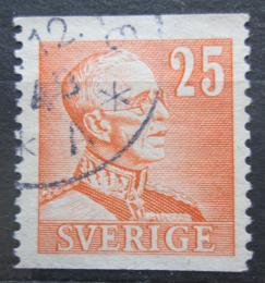 Poštovní známka Švédsko 1940 Král Gustav V. Mi# 259 A