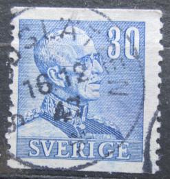 Poštovní známka Švédsko 1940 Král Gustav V. Mi# 260 A