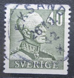 Poštovní známka Švédsko 1940 Král Gustav V. Mi# 262 A
