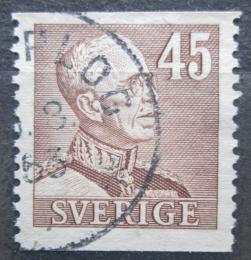 Poštovní známka Švédsko 1940 Král Gustav V. Mi# 263 A