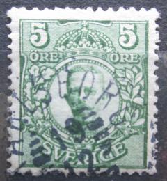 Poštovní známka Švédsko 1911 Král Gustav V. Mi# 68