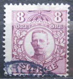 Poštovní známka Švédsko 1912 Král Gustav V. Mi# 70
