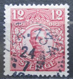Poštovní známka Švédsko 1918 Král Gustav V. Mi# 72