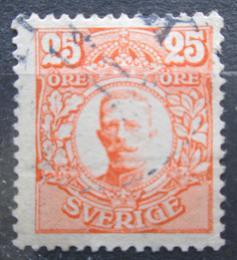 Poštovní známka Švédsko 1911 Král Gustav V. Mi# 75