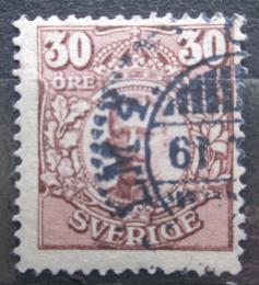 Poštovní známka Švédsko 1911 Král Gustav V. Mi# 77