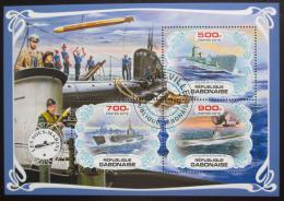Poštovní známky Gabon 2019 Ponorky Mi# N/N