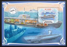 Poštovní známka Gabon 2019 Ponorky Mi# N/N