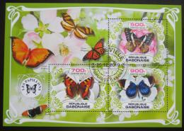Poštovní známky Gabon 2019 Motýli Mi# N/N