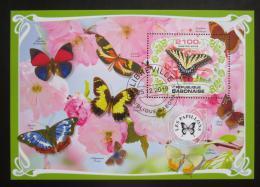 Poštovní známka Gabon 2019 Motýli Mi# N/N