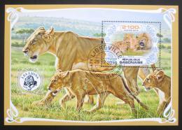 Poštovní známka Gabon 2019 Lvi Mi# N/N