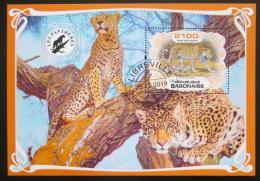 Poštovní známka Gabon 2019 Levharti Mi# N/N