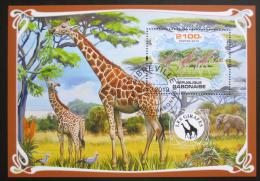 Poštovní známka Gabon 2019 Žirafy Mi# N/N