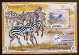 Poštovní známka Gabon 2019 Zebry Mi# N/N