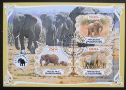 Poštovní známky Gabon 2019 Sloni Mi# N/N