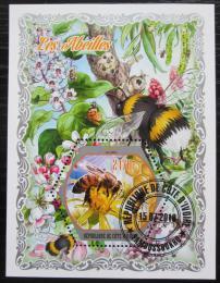 Poštovní známka Pobøeží Slonoviny 2018 Vèely Mi# N/N