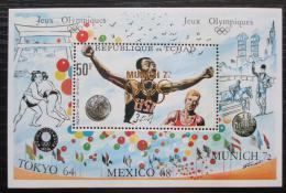 Poštovní známka Èad 1972 LOH Mnichov pøetisk RARITA Mi# Block 40 Kat 48€