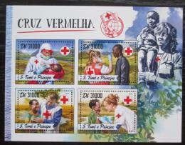 Poštovní známky Svatý Tomáš 2016 Èervený køíž Mi# 6961-64 Kat 12€