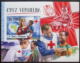 Poštovní známka Svatý Tomáš 2016 Èervený køíž Mi# Block 1242 Kat 12€