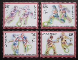 Poštovní známky Somálsko 2002 MS ve fotbale TOP SET Mi# 927-30 Kat 17€