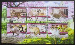 Poštovní známky Somálsko 2017 Koèky Mi# N/N