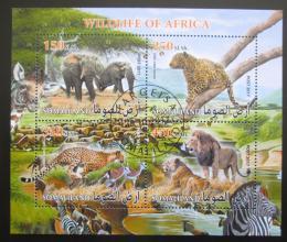 Poštovní známky Somálsko 2017 Africká fauna Mi# N/N