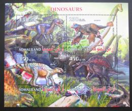 Poštovní známky Somálsko 2017 Dinosauøi Mi# N/N