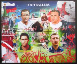 Poštovní známky Somálsko 2017 Fotbalisti Mi# N/N