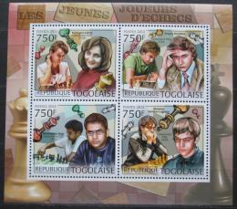 Poštovní známky Togo 2012 Slavní šachisti Mi# 4448-51 Kat 12€