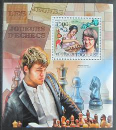 Poštovní známka Togo 2012 Slavní šachisti Mi# Block 706 Kat 12€