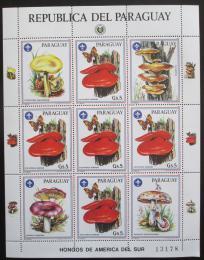 Poštovní známky Paraguay 1986 Houby Mi# 3956 Bogen Kat 25€