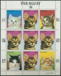 Poštovní známky Paraguay 1984 Koèky Mi# 3817 Bogen Kat 25€
