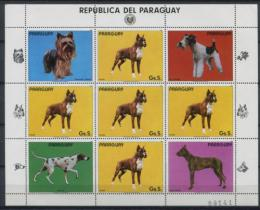 Poštovní známky Paraguay 1984 Psi Mi# 3715 Bogen Kat 16€