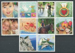 Poštovní známky Gibraltar 2007 Pozdravy s kupóny Mi# 1229-33 Kat 7.50€