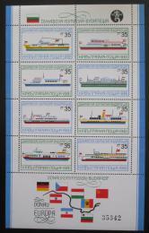 Poštovní známky Bulharsko 1981 Lodì Mi# Block 116 Kat 24€