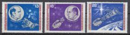 Poštovní známky Bulharsko 1975 Prùzkum vesmíru Mi# 2418-20
