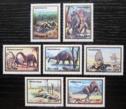 Poštovní známky Abcházie, Gruzie 1993 Dinosauøi Mi# N/N
