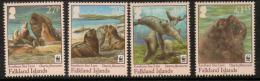 Poštovní známky Falklandské ostrovy 2011 Lachtan høivnatý,WWF Mi# 1143-46 Kat 10€