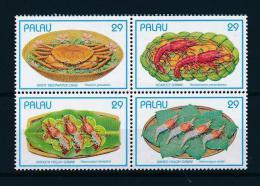 Poštovní známky Palau 1993 Krabi Mi# 610-13 Kat 6€