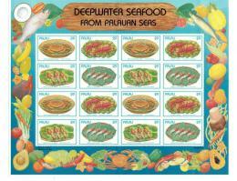 Poštovní známky Palau 1993 Krabi Mi# 610-13 Bogen Kat 24€