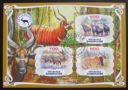 Poštovní známky Gabon 2019 Antilopy Mi# N/N