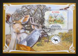Poštovní známka Gabon 2019 Antilopy Mi# N/N