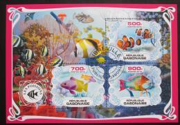 Poštovní známky Gabon 2019 Ryby Mi# N/N