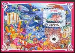 Poštovní známka Gabon 2019 Ryby Mi# N/N