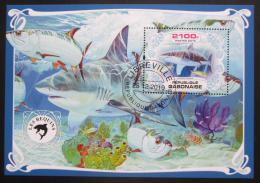 Poštovní známka Gabon 2019 Žraloci Mi# N/N
