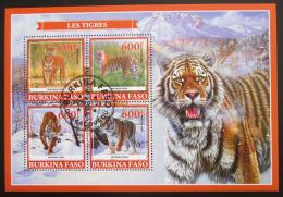 Poštovní známky Burkina Faso 2019 Tygøi Mi# N/N
