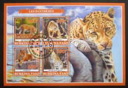 Poštovní známky Burkina Faso 2019 Levhart skvrnitý Mi# N/N