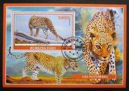 Poštovní známka Burkina Faso 2019 Levhart skvrnitý Mi# N/N