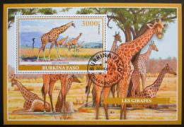 Poštovní známka Burkina Faso 2019 Žirafy Mi# N/N